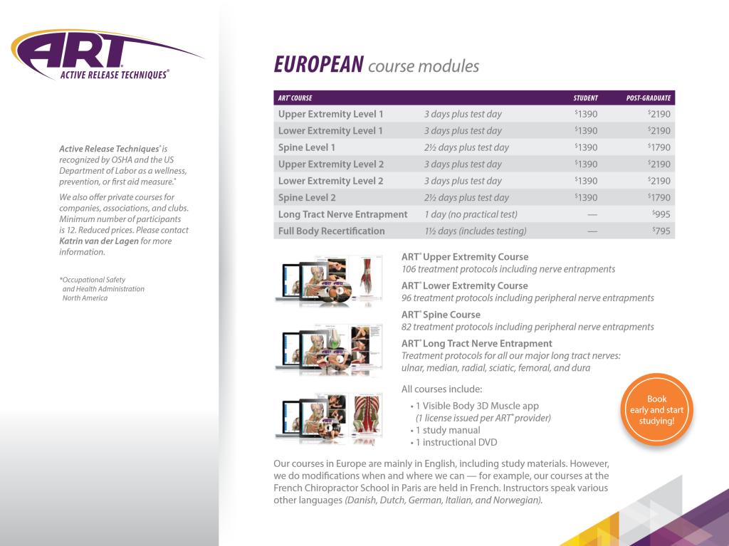 active-release-techniques-europe-course-modules