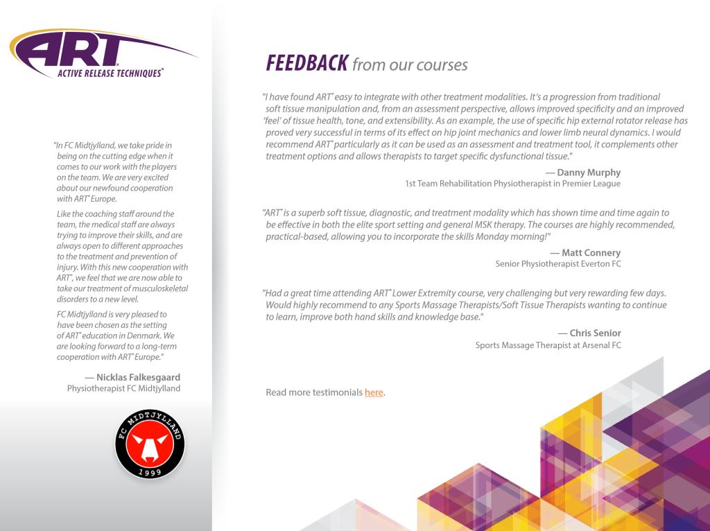active-release-techniques-europe-feedback-participants